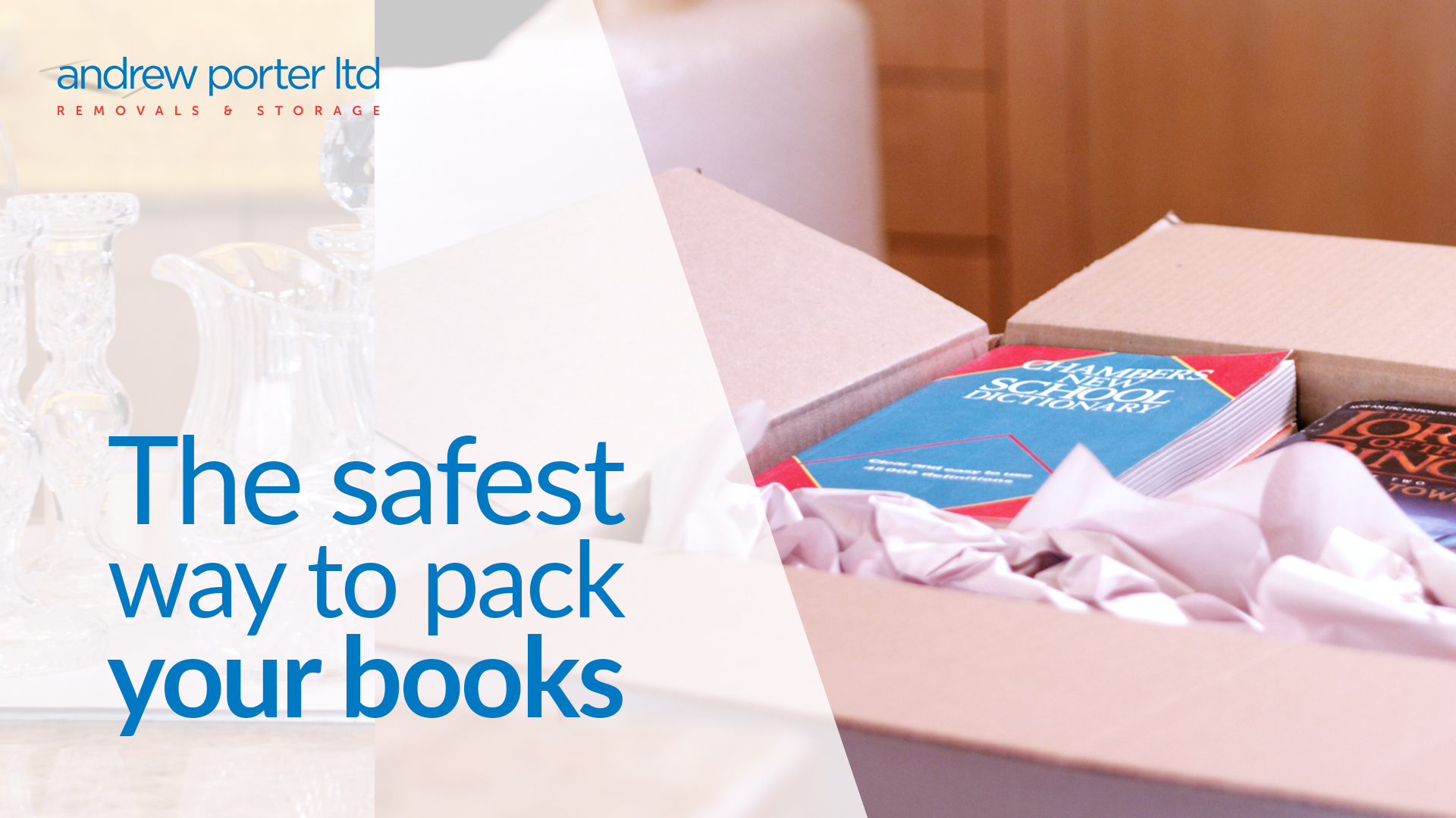 The safest way to pack your books