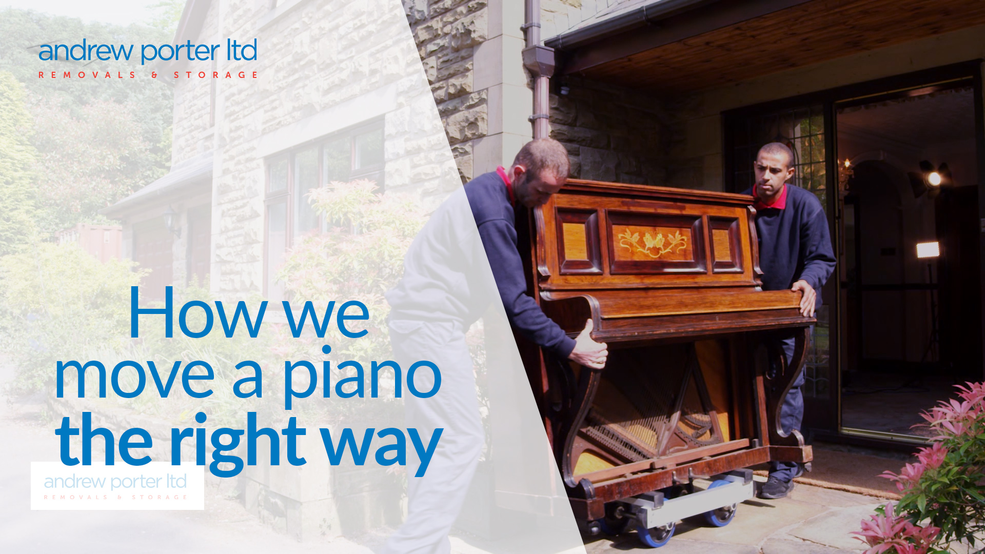 How we move a piano the right way