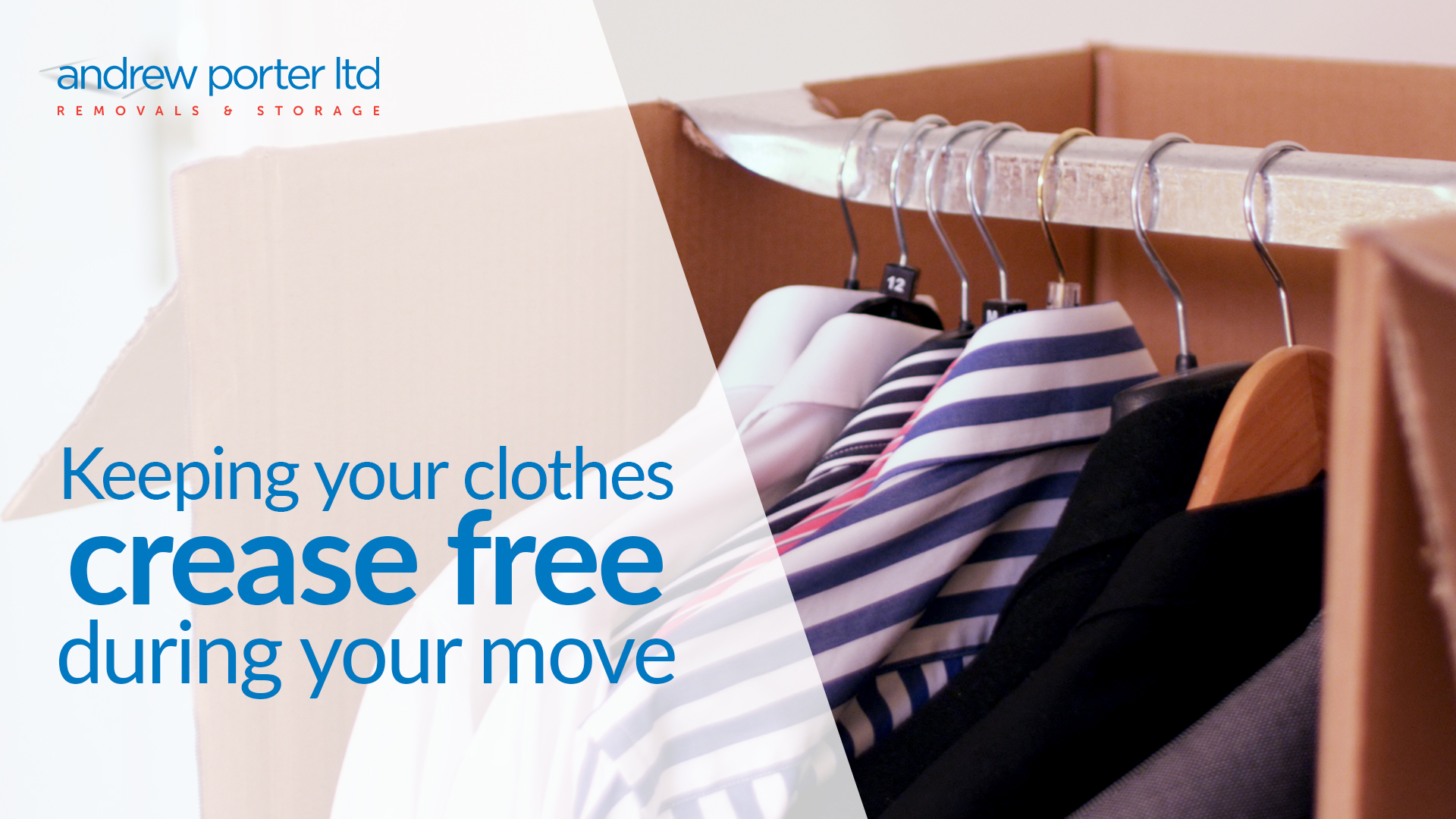 Keeping your clothes crease-free during your home move