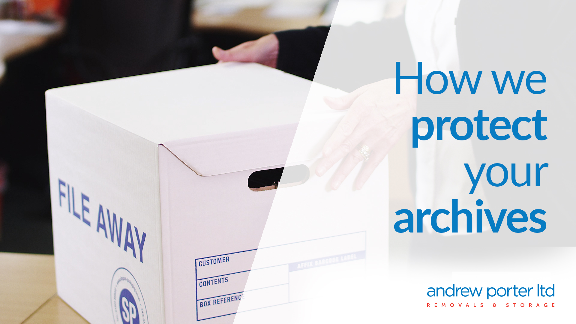 Storing your business archives securely