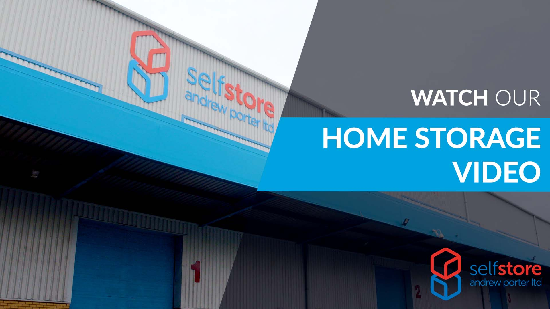Self storage for home customers