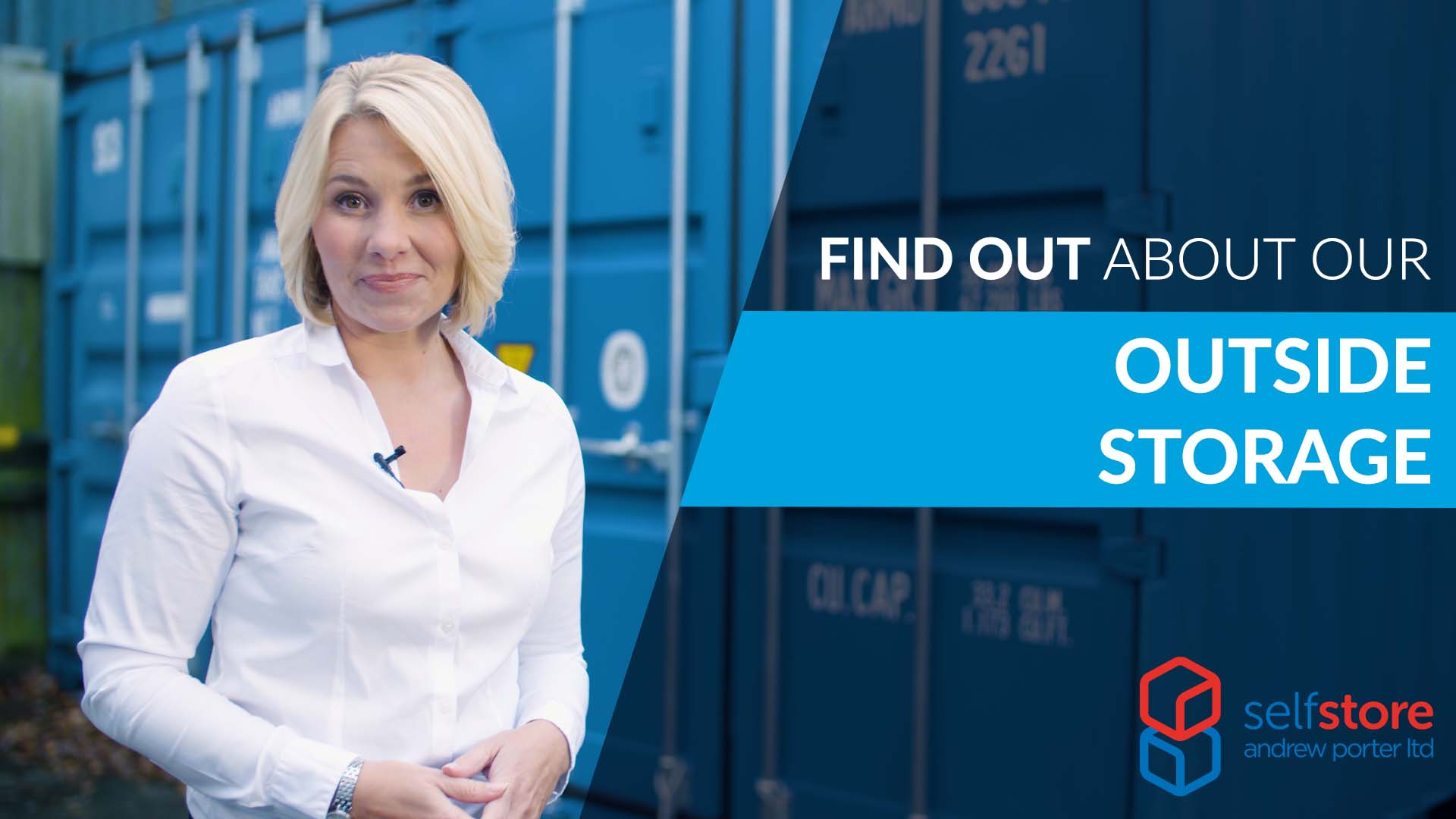 Get the lowdown on outside self storage