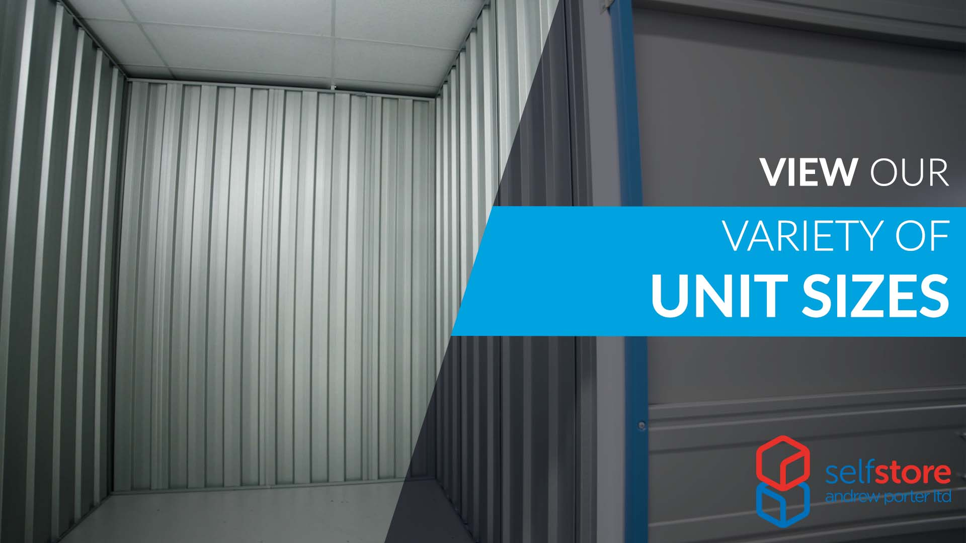 A Guide To Storage Unit Sizes